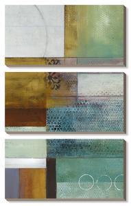 Cosmopolitan Abstract I by W^ Green-Aldridge