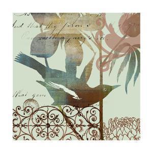 Fanciful Bird I by W. Green-Aldridge