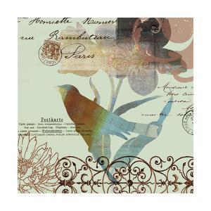 Fanciful Bird II by W. Green-Aldridge