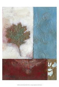 Painterly Leaf Collage II by W^ Green-Aldridge