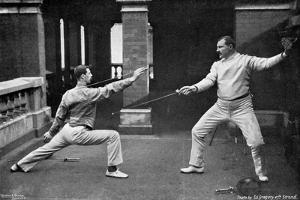 The Fencing Masters of the 1st Life Guards, 1896 by W Gregory