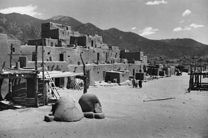 Taos Pueblo by W.H. Shaffer