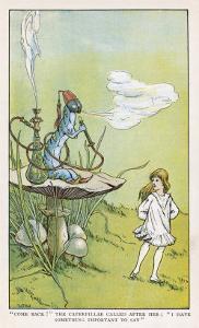Alice Walks Away from the Caterpillar by W.h. Walker