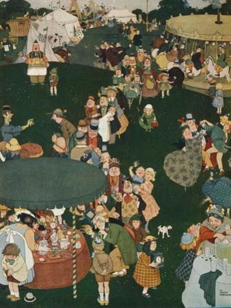 The Fair Day, C19th Century, (1925) by W Heath Robinson