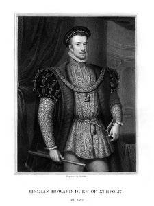 Thomas Howard, 4th Duke of Norfolk and 1st Earl of Southampton by W Holl