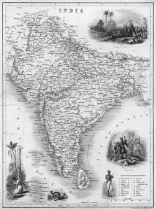 India Under British Rule About the Time of the Mutiny by W^ Hughes
