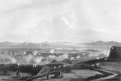 The Attack on Bomarsund, During the Crimean War, 1854