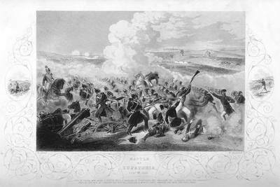 The Battle of Eupatoria During the Crimean War, 1855