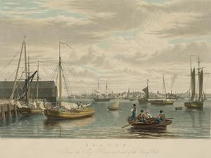 Boston, from the Ship House by W.J. Bennett