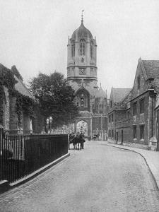 Tom Tower, Christchurch College, Oxford, Oxfordshire, 1924-1926 by W Mann