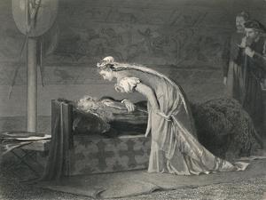 'Lear and Cordelia (King Lear)', c1870 by W Ridgeway