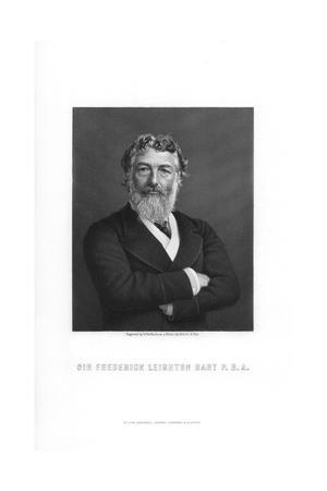 Frederic Leighton, 1st Baron Leighton, English Painter and Sculptor