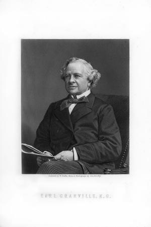 Granville George Leveson-Gower, 2nd Earl Granville, British Liberal Statesman