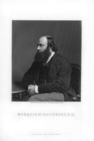 Robert Gascoyne-Cecil, 3rd Marquess of Salisbury, British Statesman and Prime Minister, 1893