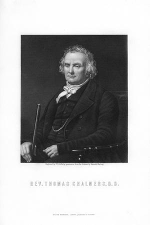 Thomas Chalmers, Leader of the Free Church of Scotland
