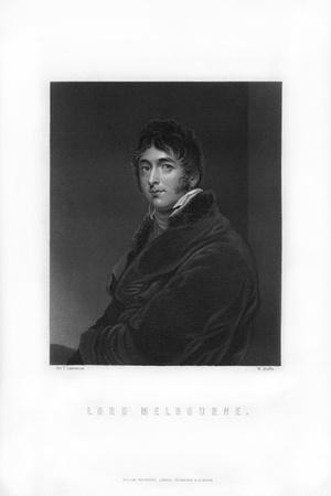 William Lamb, 2nd Viscount Melbourne, British Whig Statesman and Prime Minister