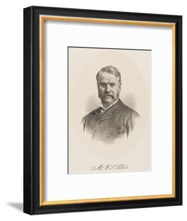 W S Gilbert (1836-1911)--Framed Giclee Print