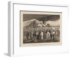 Delivering of the American Presents at Yokuhama, 1855 by W. T. Peters