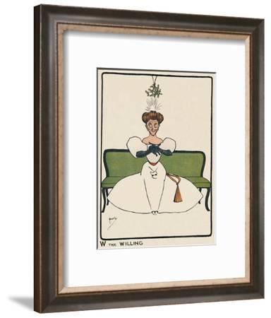 'W the Willing', 1903-John Hassall-Framed Giclee Print