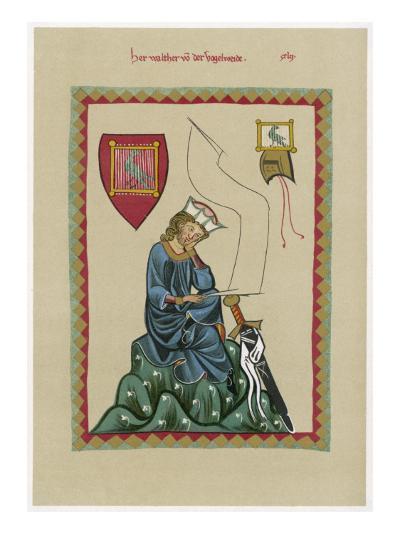 W Von Der Vogelweide--Giclee Print