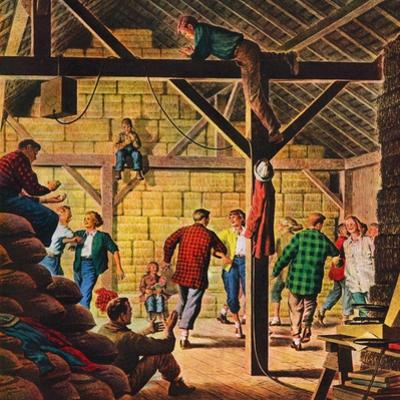 """Square Dance in the Barn,""November 1, 1947"