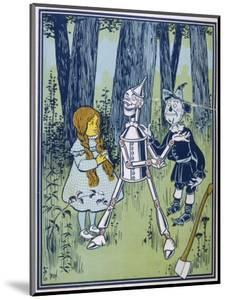 Wizard of Oz: Dorothy Oils the Tin Woodman's Joints by W.w. Denslow