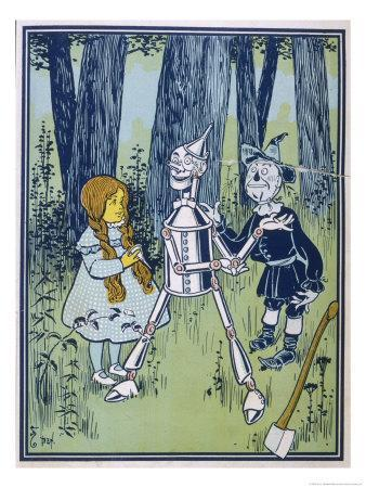 Wizard of Oz: Dorothy Oils the Tin Woodman's Joints