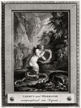 Cadmus and Hermione, Metamorphosed into Serpents, 1776