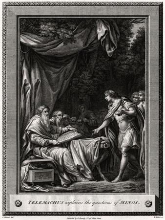 Telemachus Explains the Questions of Minos, 1776