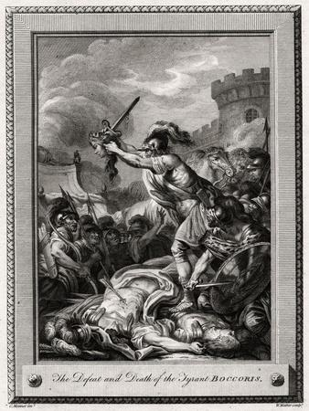 The Defeat and Death of the Tyrant Boccoris, 1774