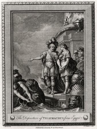 The Departure of Telemachus from Egypt, 1775