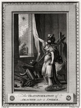 The Transformation of Arachne into a Spider, 1775