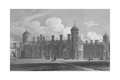 'Cobham Hall, (North West View) Kent', 1823
