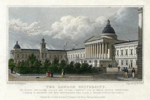 The London University, 1828 by W Wallis