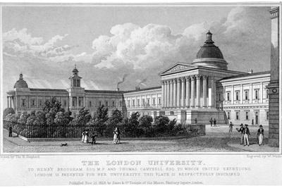 University College, Gower Street, London, 1828