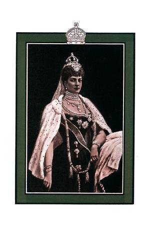Alexandra of Denmark (1844-192), Queen Consort to King Edward VII, 1902-1903