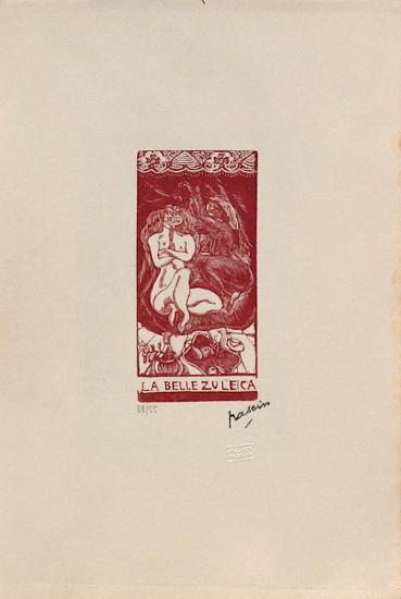 W04 - La belle Zuleica-Jules Pascin-Limited Edition