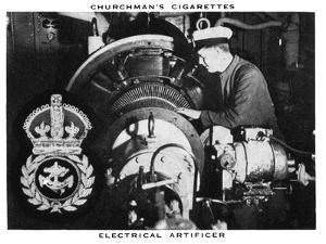 Electrical Artificer, 1937 by WA & AC Churchman