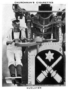 Gunlayer, 1937 by WA & AC Churchman