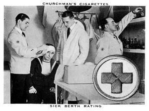 Sick Berth Rating, 1937 by WA & AC Churchman