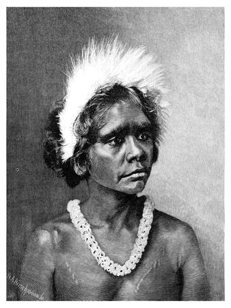 An Aboriginal Woman, 1886