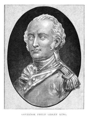 Captain Philip Gidley King, British Naval Officer and Third Governor of New South Wales
