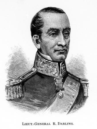 General Sir Ralph Darling, British Soldier and Colonial Governor