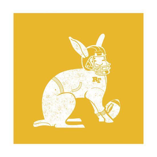 Wabbit Yellow-Jimmy Messer-Giclee Print