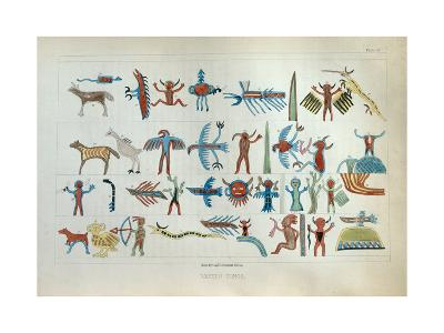 Wabeno Songs, from 'Information Respecting the History, Condition and Prospects of the Indian…-Seth Eastman-Giclee Print