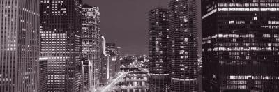 Wacker Drive, River, Chicago, Illinois, USA--Photographic Print