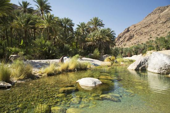 Wadi Bani Khalid, Oman, Middle East Photographic Print by Angelo Cavalli |  Art com