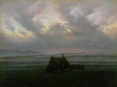 Waft of Mist, circa 1818-20-Caspar David Friedrich-Giclee Print