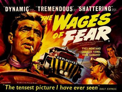 Wages of Fear, UK Movie Poster, 1953--Art Print