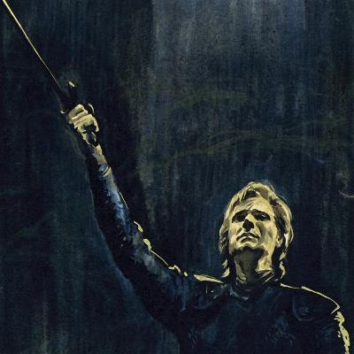 Wagner's Parsifal Was the Story of a Knight of the Holy Grail--Giclee Print